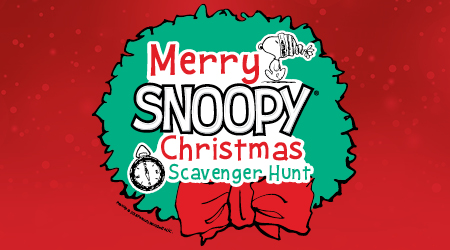 Snoopys Christmas.Tickets Merry Snoopy Christmas Scavenger Hunt Gaylord